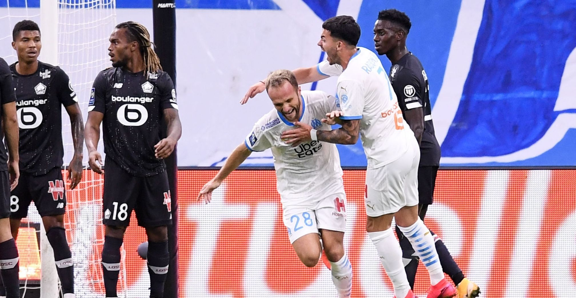 OM Marseille Valère Germain Morgan Sanson LOSC Renato Sanches