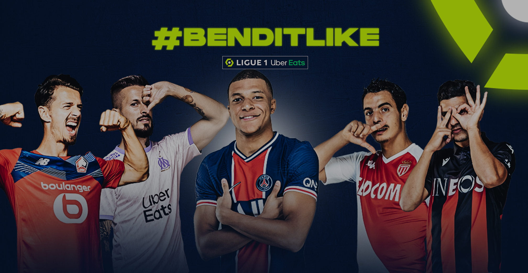 The Lfp And Tiktok Partner To Celebrate Ligue 1 Uber Eats