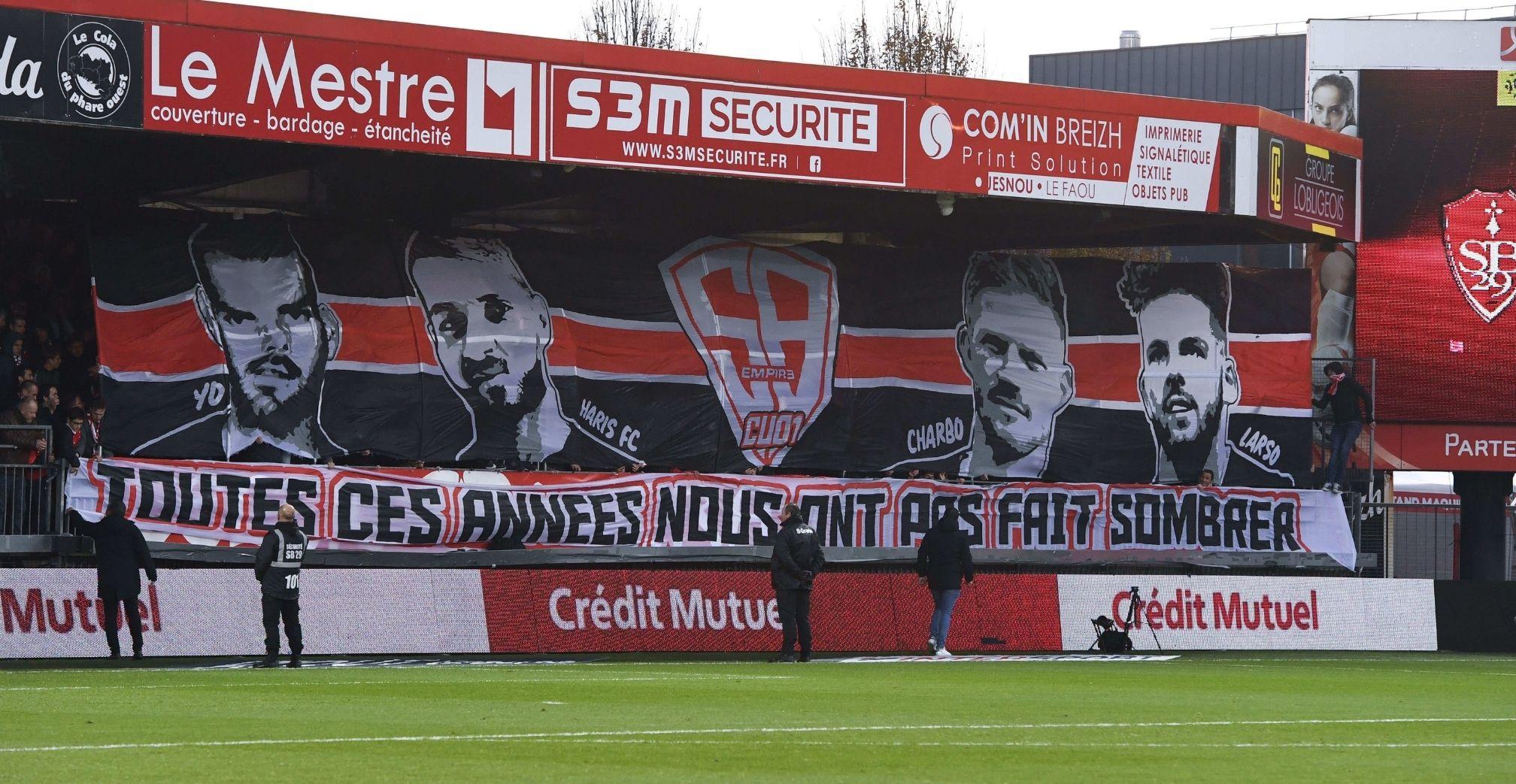 Brest, fans