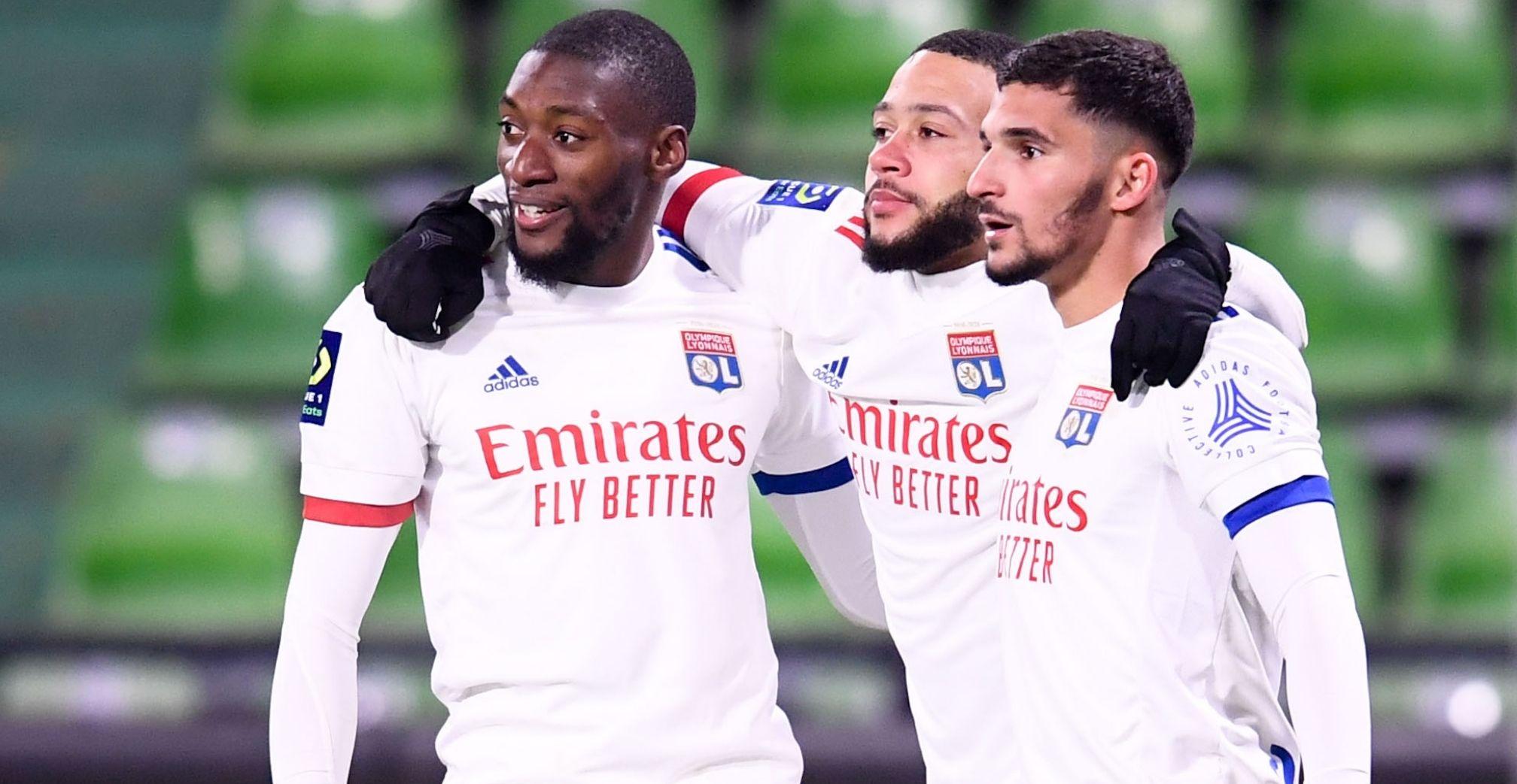 Depay, Toko Ekambi fire Lyon into third