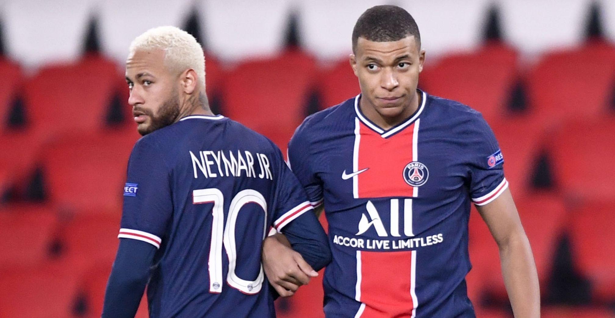 Mbappé a Neymar