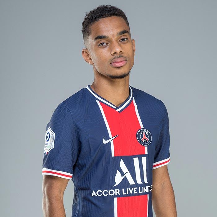 Colin DAGBA (PARIS SG) - Ligue 1 Uber Eats